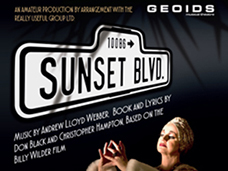 Sunset Boulevard di Andrew Lloyd Webber on stage